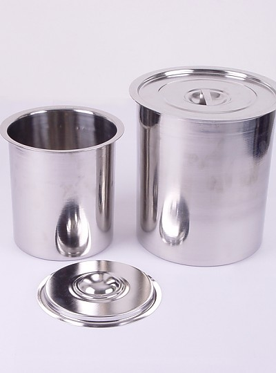 Cylindrical Stainless Steel Container / 타원형스테인레스용기