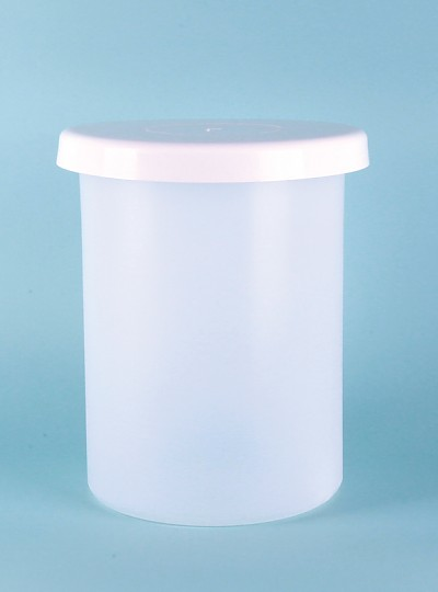 Cylindrical Tank with Cover / 20L타원형용기, PP