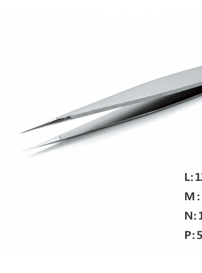 Ultra Fine Pointed Nano Tweezer / 고정밀트위저, Rubis®,RU-1 Ion-SA