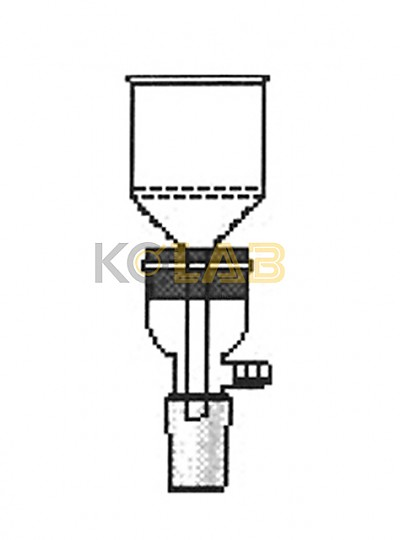 Adapter, Filltering, For rubber stopper / 고무마개용휠터아답타