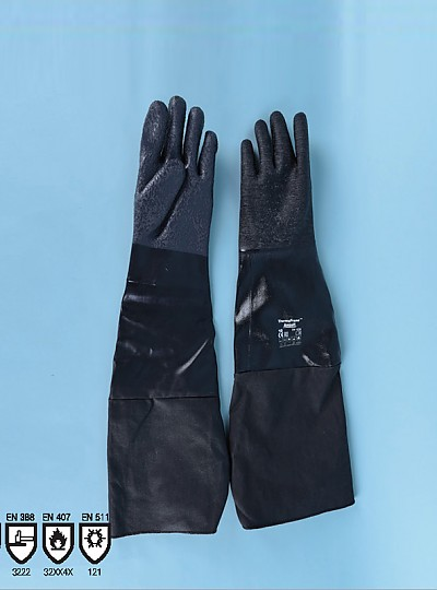 Scorpio® 19-024S, 19-026S Neoprene Chemical and heat resistant gloves / 네오프렌내화학내열글러브, KOSHA인증