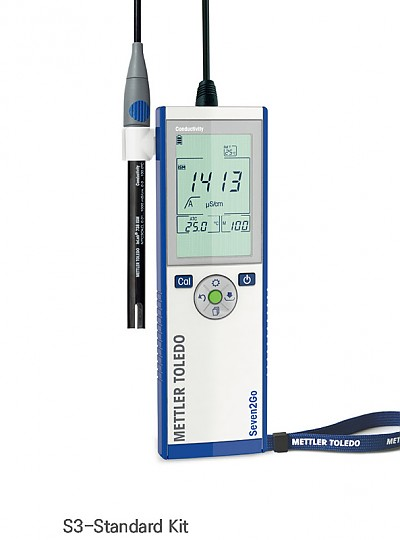 Portable Conductivity Meter, Seven2GO S3 / S7 / 휴대용전도도미터