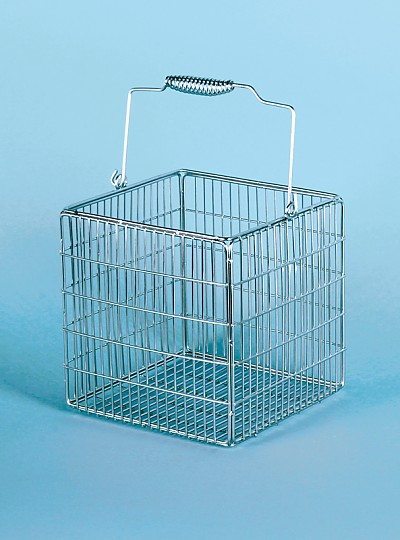 Stainless Steel Wire Basket, Square / 스테인레스정사각시험관망