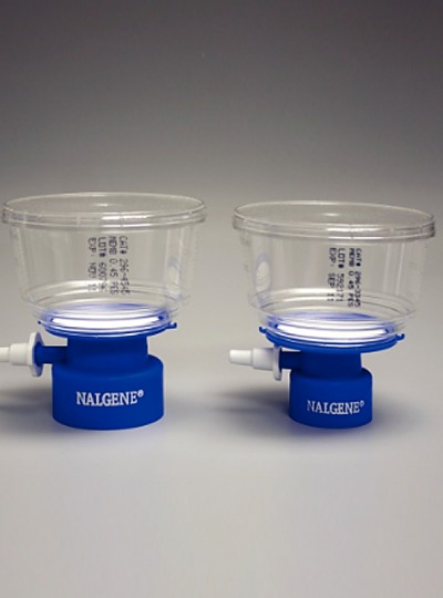 Disposable Bottle Top Filter with Membrane, Sterile / 일회용멸균바틀탑필터, Nalgene