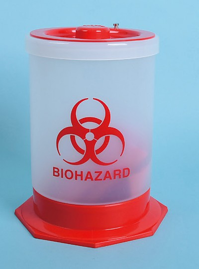 Waste Container, Biohazardous / 유해폐기물용기, PP