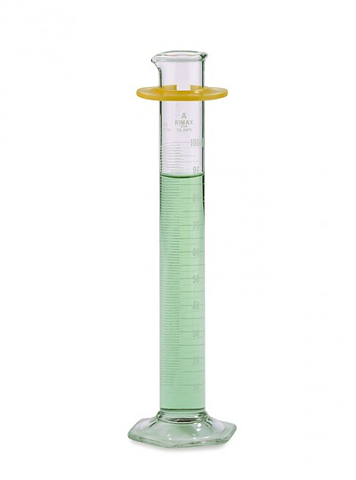 Serialized and Certified Measuring Cylinder, Kimble / ASTM메스실린더, Class A + USP 개별 보증서