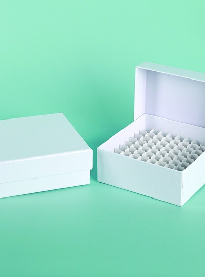 Card Board Freezer Box / 냉동보관종이박스, 81-holes