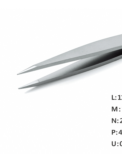 Ultra Fine Pointed Nano Tweezer / 고정밀트위저, Rubis®,RU-00 Ion-SA