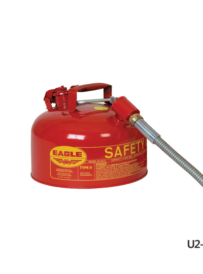Type II Safety Cans - Gavanized Steel / 타입2안전용기, with od16 mm Flex Spout