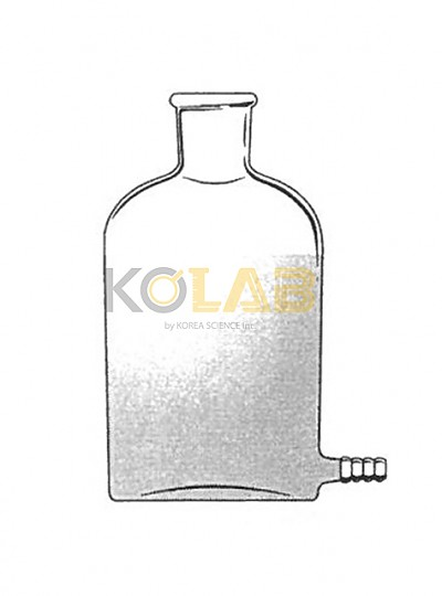 Bottle, Aspirator, Outlet for tubing / 호스부하구병