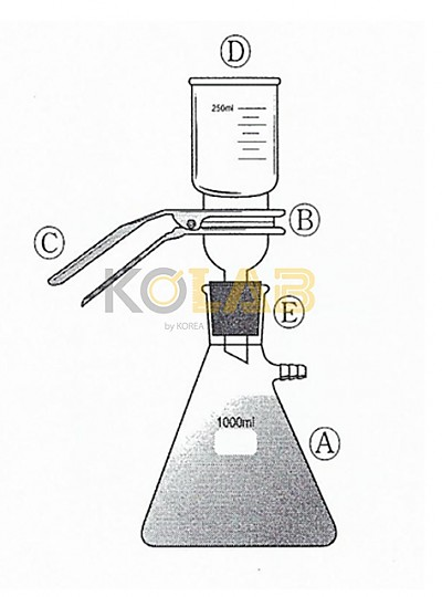 Solid suspension filtering apparatus / S.S여과장치, 고무마개연결형