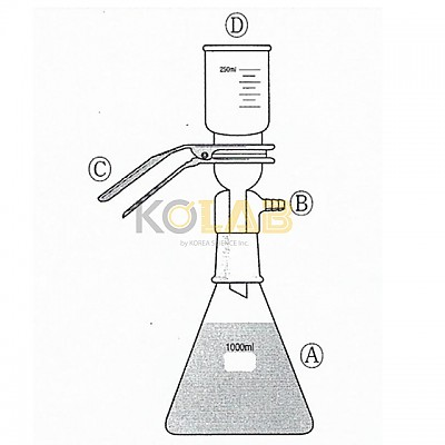 Solid suspension filtering apparatus, With joint / S.S여과장치, 죠인트연결형