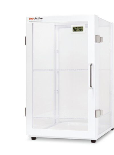 Dry Active-Desiccator Cabinet, General, w/Digital Thermo-Hygrometer, 47.6L / 드라이액티브데시케이터 캐비닛, 일반형, 디지털온습도계장착, 47.6L