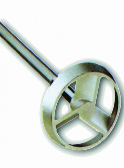 IKA Stirring Element for Overhead Stirrer / 오버헤드스터러용임펠라, Stainless Steel AISI 316L, Turbine Stirrer