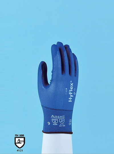 HYFLEX® 11-818 FORTIX™ Nitrile Foam Coating Glove / 포틱스니트릴폼코팅글러브