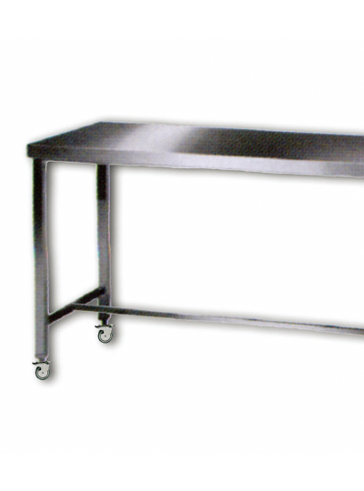 Mobile Stainless Steel Cart Bench / 이동식 테이블